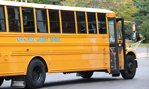 North Rose-Wolcott Schools Bus